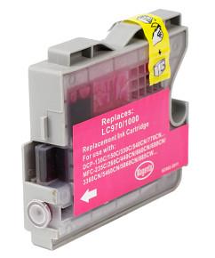 Kompatibilní inkoustová cartridge s: BROTHER LC-970 / LC-1000 Magenta