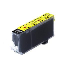 Kompatibilní inkoustová cartridge s: CANON CLI-521 Black s čipem