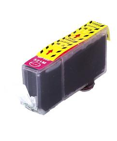 Kompatibilní inkoustová cartridge s: CANON CLI-521 Magenta s čipem