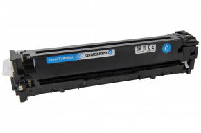 Kompatibilní laserový toner s: HP CE321A Cyan (1.400str.)