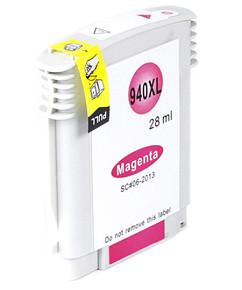 Kompatibilní  inkoustová cartridge s: HP C4908AE magenta  č.940XL (28ml.)