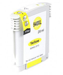 Kompatibilní inkoustová cartridge s: HP C4909AE Yellow č.940XL (28ml.)