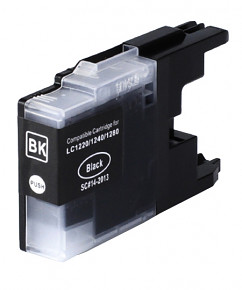 Kompatibilní cartridge s: BROTHER LC-1220 / LC-1240 / LC-1280 Black