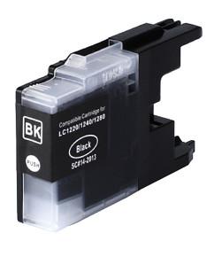 Kompatibilní cartridge s: BROTHER LC-1220 / LC-1240 / LC-1280 Black
