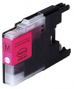 Kompatibilní cartridge s: BROTHER LC-1220 / LC-1240 / LC-1280 Magenta