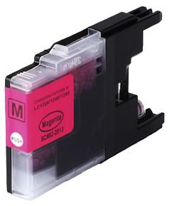 Kompatibilní cartridge s: BROTHER LC-1220 / LC-1240 / LC-1280 Magenta