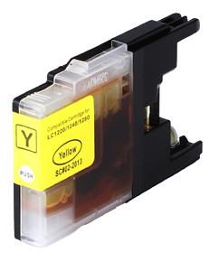 Kompatibilní cartridge s: BROTHER LC-1220 / LC-1240 / LC-1280 Yellow