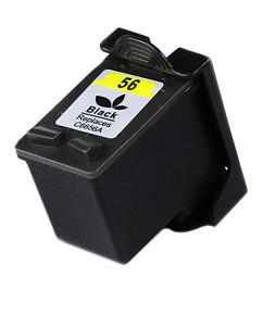Kompatibilní inkoustová cartridge s: HP C6656A černá č.56 (20ml)