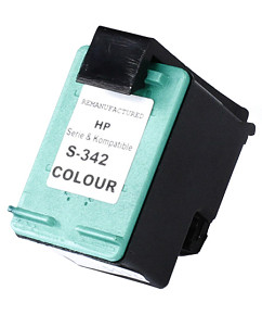 Kompatibilní inkoustová cartridge s: HP color C9361EE (č.342) - 12ml