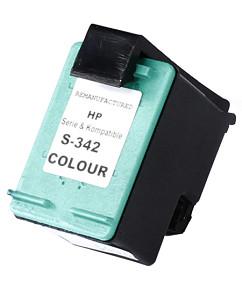Kompatibilní inkoustová cartridge s: HP color C9361EE (č.342) - 12ml