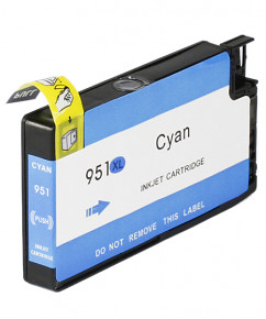 Kompatibilní inkoustová cartridge s : HP 951XL - CN046AE Cyan (1.500str.)