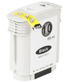 Kompatibilní inkoustová cartridge s: HP C4844A black č.10 (69ml)