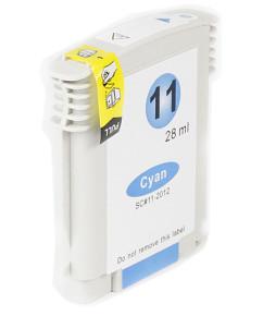 Kompatibilní inkoustová cartridge s: HP C4836A cyan č.11 (28ml)