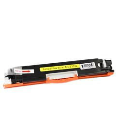 Kompatibilní laserový toner s: HP CE312A (126A) Yellow - 1.000str.