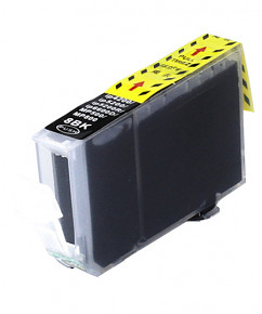Kompatibilní inkoustová cartridge s: CANON CLI-8 Black bez čipu