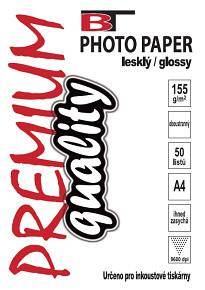 BT fotopapír oboustranný lesklý A4 - 155g (50listů)