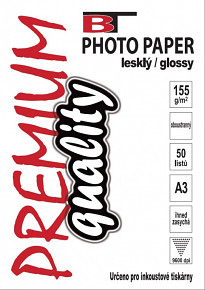 BT oboustranný fotopapír lesklý A3 - 155g - 50listů