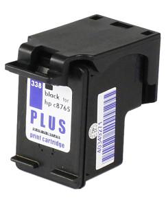 Kompatibilní inkoustová cartridge s: HP C8765 - č.338 Black (21ml)