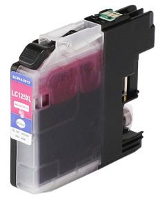 Kompatibilní inkoustová cartridge s: BROTHER LC125 Magenta s čipem (14ml)
