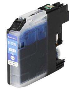 Kompatibilní inkoustová cartridge s: BROTHER LC-123 Cyan s čipem (14ml)