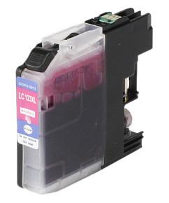 Kompatibilní inkoustová cartridge s: BROTHER LC-123 Magenta s čipem