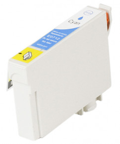 Kompatibilní inkoustová cartridge s: EPSON T0712 Cyan (13ml)