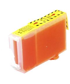 Kompatibilní inkoustová cartridge s: CANON BCI-6 Yellow (13ml)