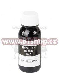 Samostatný inkoust pro cartridge CANON BCI-6  Black (100ml)