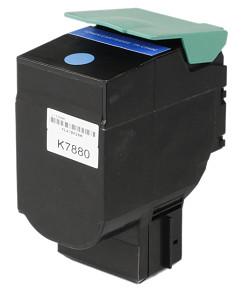 Kompatibilní laserový toner s: LEXMARK C540 Cyan (2.000str.) - C540H1CG