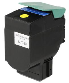 Kompatibilní laserový toner s: LEXMARK C540 Yellow (2.000str.) - C540H1YG