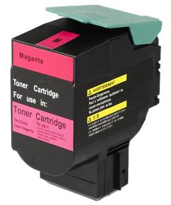 Kompatibilní laserový toner s: LEXMARK C544 Magenta (4.000str.) - C544X1MG