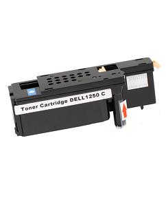 Kompatibilní laserový toner s: DELL 1250 / 1350 / 1355 Cyan (593-11141) - 1.400str.