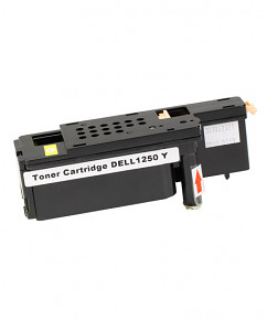 Kompatibilní laserový toner s: DELL 1250 / 1350 / 1355 Yellow  (593-11143) - 1.400str.