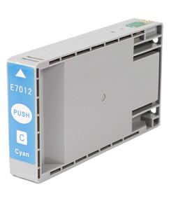 Kompatibilní inkoustová cartridge s: EPSON T701240 Cyan (32ml)