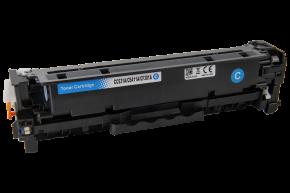 Kompatibilní laserový toner s: HP CE411A CYAN - 2.800str.