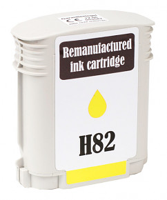 Kompatibilní inkoustová cartridge s: HP 82 XL YELLOW (C4913A - 69ml)