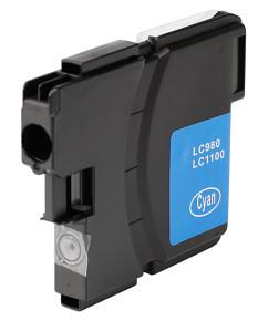 Kompatibilní inkoustová cartridge s: BROTHER LC-980 / LC-1100 Cyan