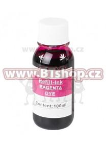 Samostatný inkoust pro cartridge HP č.703 a č.704 Magenta (100ml)