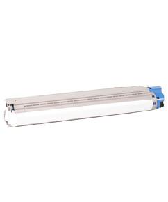 Kompatibilní laserový toner s: OKI C8600/C8800 - 43487711 CYAN - 6.000str.