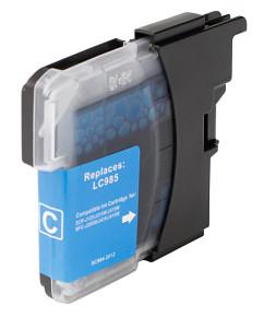 Kompatibilní inkoustová cartridge s: BROTHER LC-985 Cyan