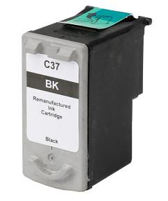 Kompatibilní inkoustová cartridge s : Canon PG-37 Black (12ml)