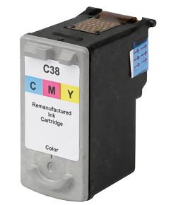 Kompatibilní inkoustová cartridge s : CANON CL-38 Color (15ml)