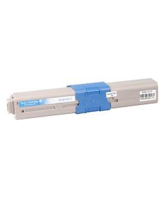 Kompatibilní laserový toner s: OKI C301/321/MC322 Cyan (1.500str.) - 44973535