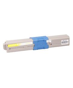 Kompatibilní laserový toner s: OKI C301/321/MC322 Yellow (1.500str.) - 44973533