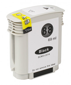 Kompatibilní inkoustová cartridge HP C9396 Black č.88 XL (69ml)