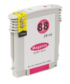 Kompatibilní inkoustová cartridge s HP C9392 Magenta č.88XL (28ml.)