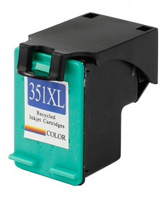Kompatibilní inkoustová cartridge s: HP CB338EE color č.351XL (18ml)