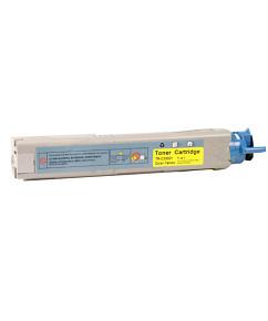 Laserový toner kompatibilní s: OKI C3300 / 3400 / 3600 Yellow (2.500str.)