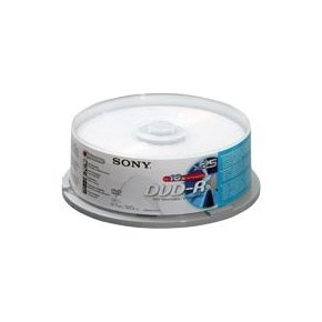 DVD+R SONY 4,7GB 16x 25 + 5ks