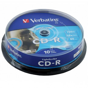 CD-R Verbatim - 700mb - 52x - 10pack